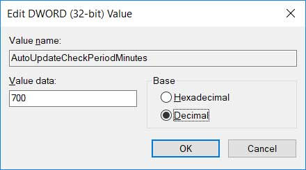 enable chrome auto-update decimal value