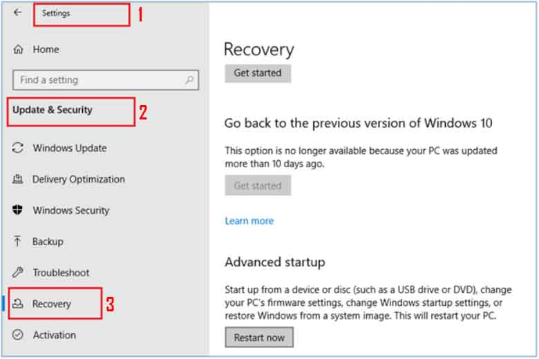 Steps to enable Windows Virtualization